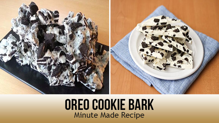 Oreo Cookie Bark