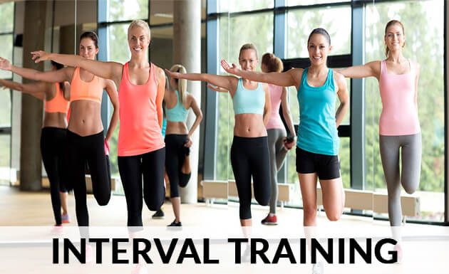 interval training exercises