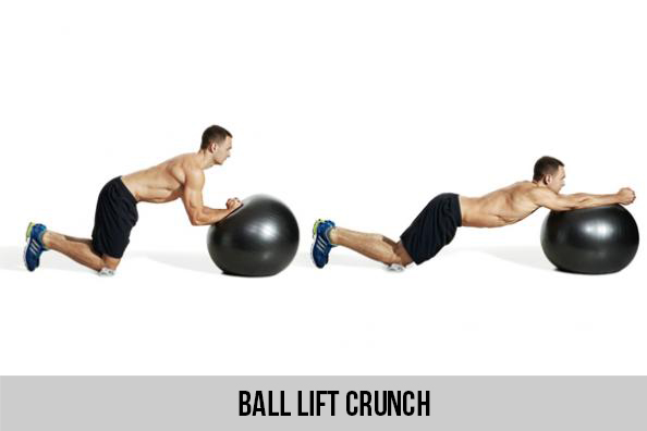 Ball Lift Crunch