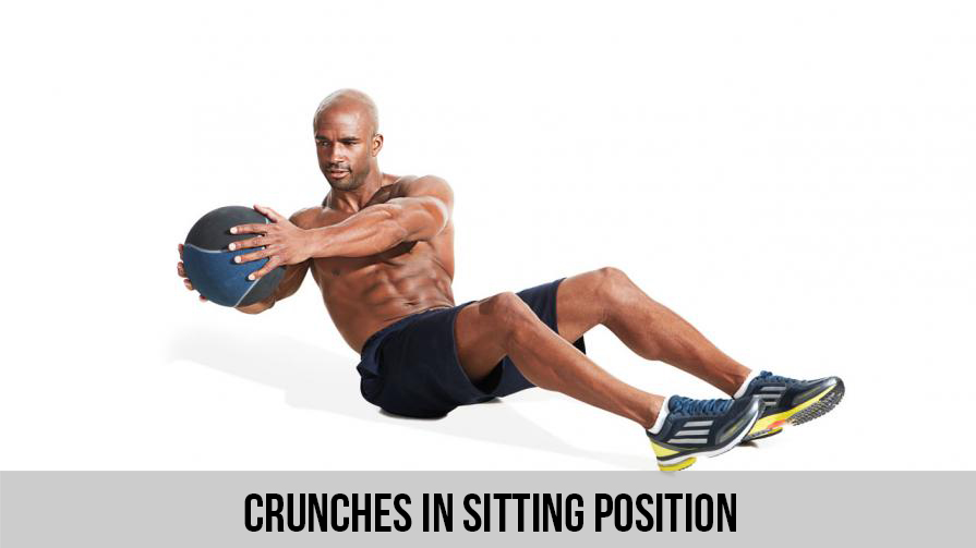 Crunches in Sitting Position