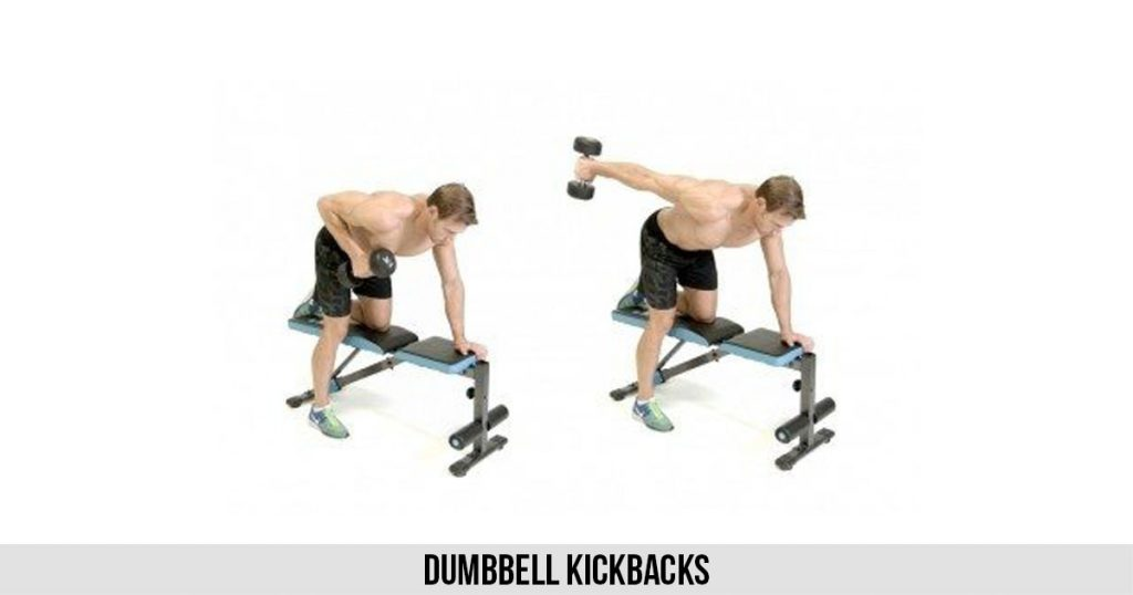 Dumbbell Kickbacks