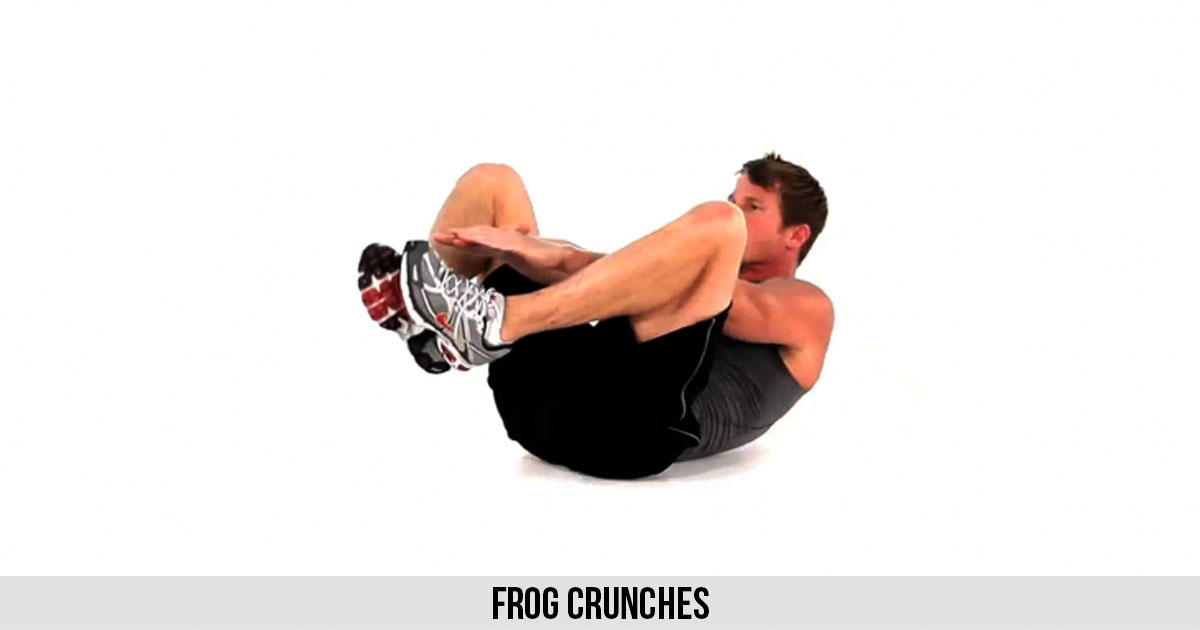 Frog Crunches