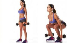 Dumbbell Jump Squat