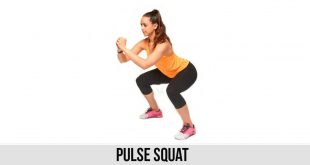 Pulse Squat exercise