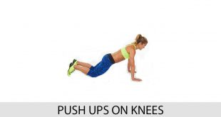 Push ups on knees