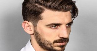 Curly Comb over Hairstyle