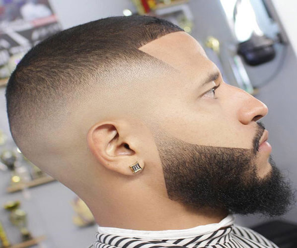 High Skin Fade with Buzz Cut