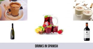 Drinks in Spanish