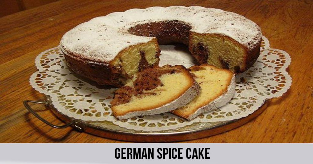 German Spice Cake
