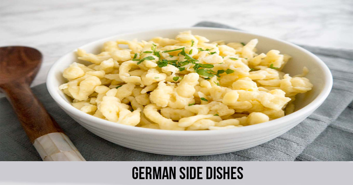 Famous German Side dishes