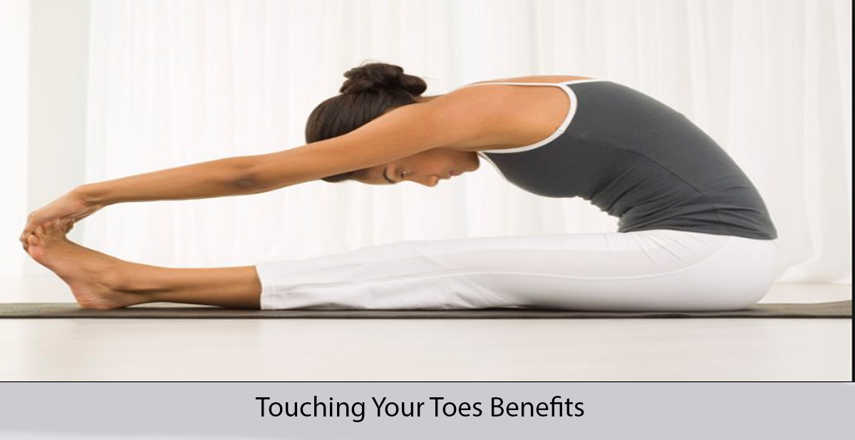 Touching your toes benefits