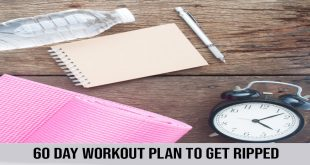 60 days workout plan to get ripped