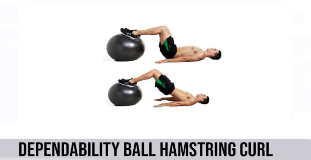 how to do Dependability ball Hamstring Curl