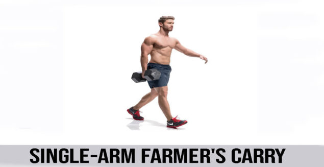 SINGLE-ARM FARMER'S CARRY exercise