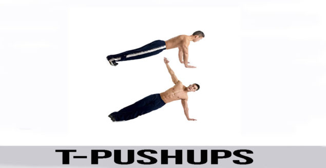 T-PUSHUPS exercise