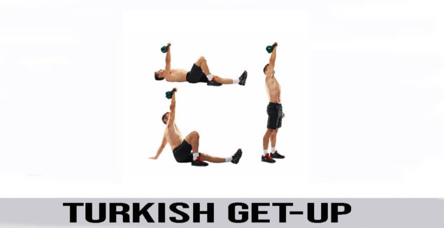 TURKISH GET-UP exercise