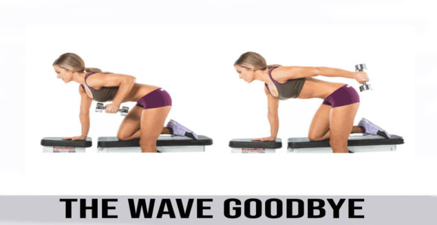 how to do The Wave Goodbye exercise
