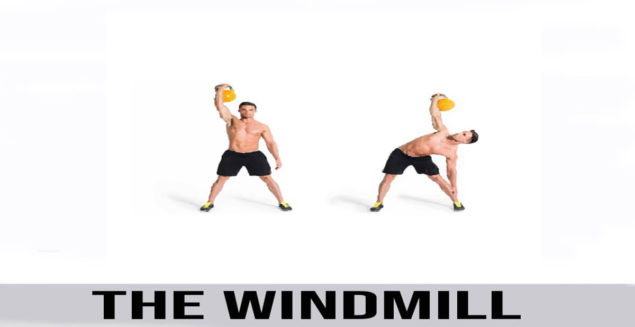 how to do The Windmill exercise