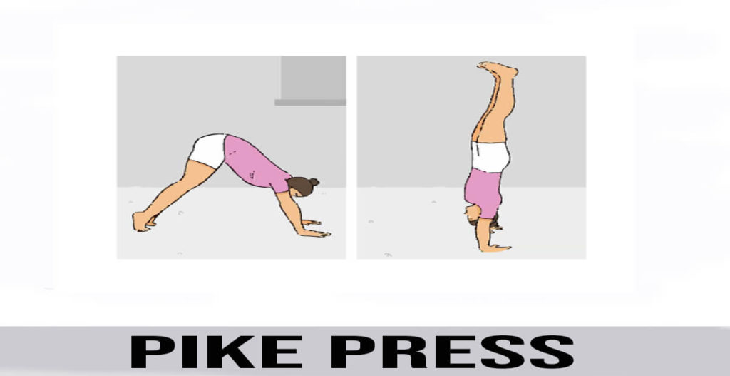 how to do pike press