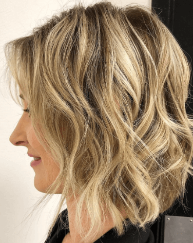 Asymmetrical Short Bob With Layers hairstyle