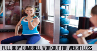 Full Body Dumbbell Workout For Weight Loss