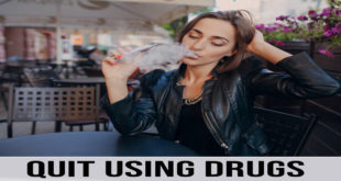 Quit Using Drugs