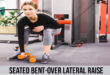 SEATED BENT-OVER LATERAL RAISE exercise