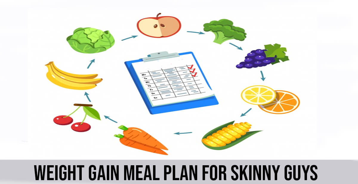weight gain meal plan for skinny guys