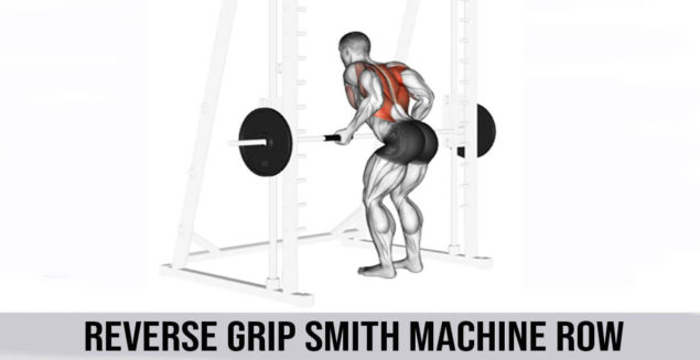 reverse grip smith machine row