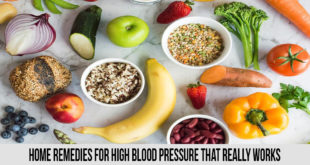 home remedies for high blood pressure that really work