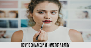 how to do makeup at home for a party