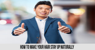 How to Make Your Hair Stay Up Naturally