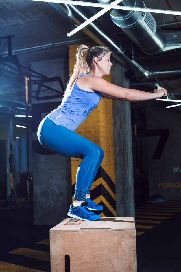 Box Jumps exercise